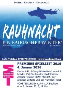 RAUHNACHT Plakat 2016 DIN A 4